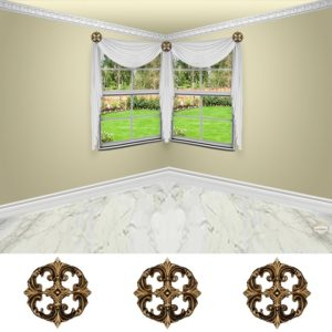 Large medallian-3pc-classic