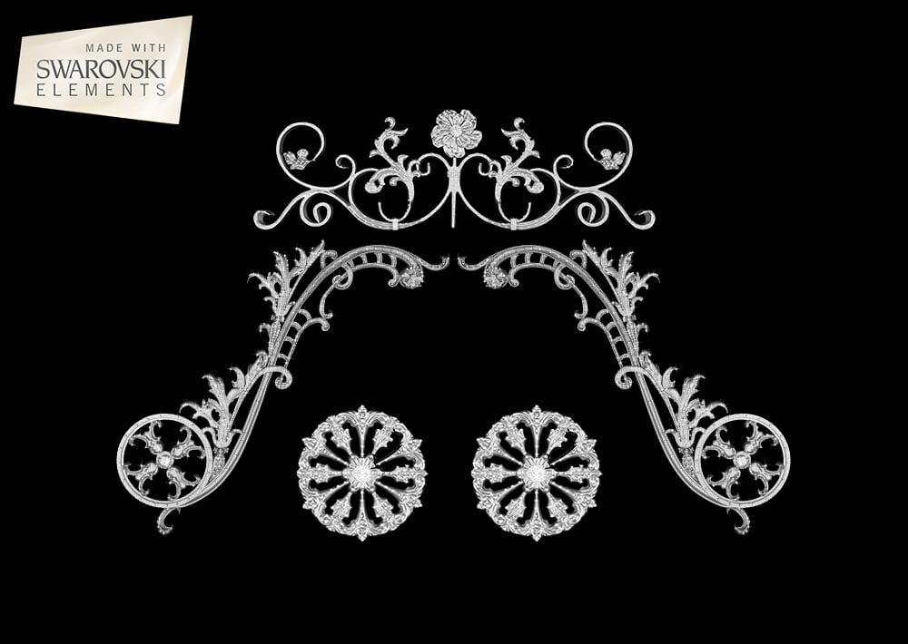 Nova Crown-5PC Crystal