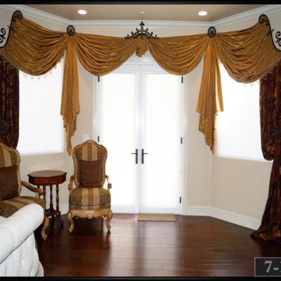 curtain hardware for bay windows