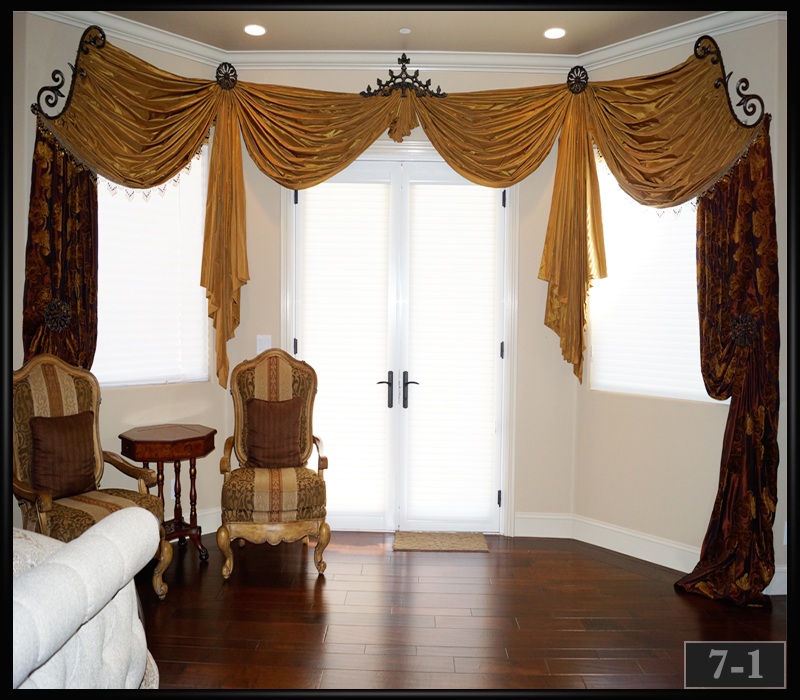 curtain hardware for bay windows