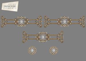 Zodiac Crown-5PC Gem