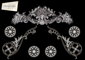 Caesar Crown-7PC Crystal