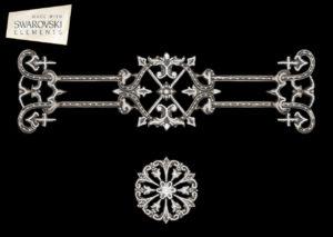 Zzodiac Crown-2PC Crystal