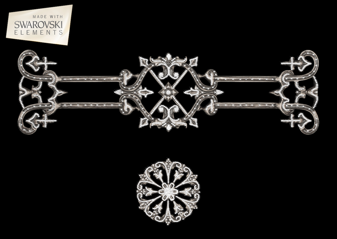 Zzodiac Crown-2PC Crystal