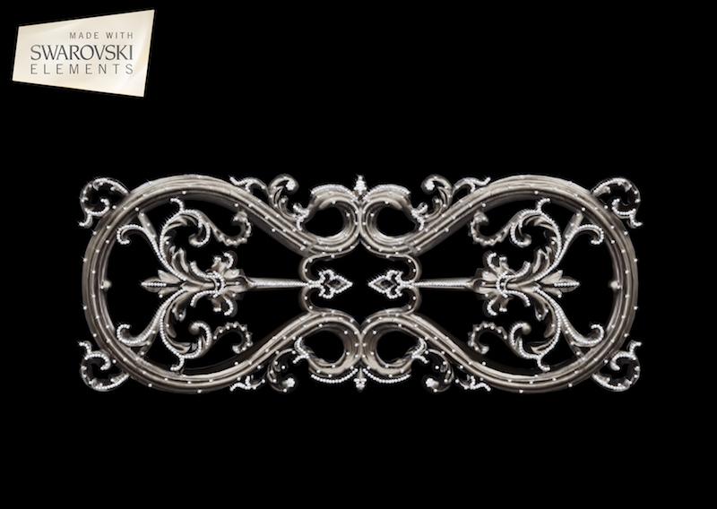 Lyra Crown-1PC Crystal