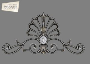 French Shell Crown- 1PC Gem
