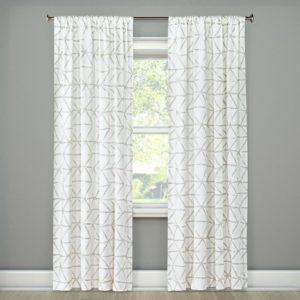 Curtains white