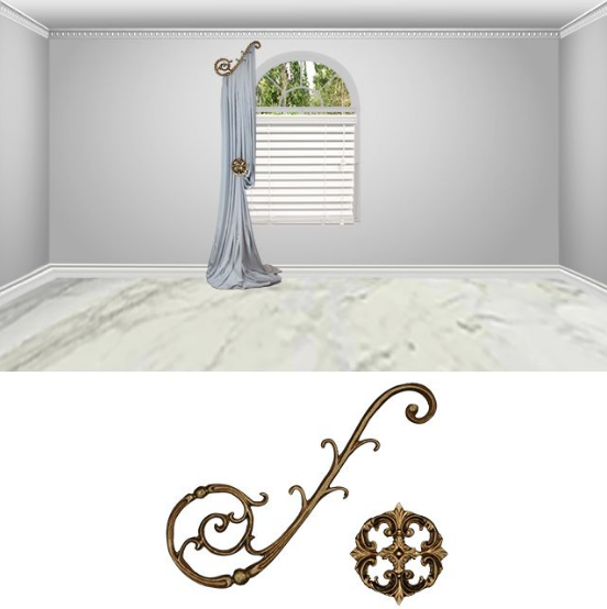 Florence scroll-2pc-classic