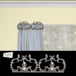 Bellagio Crown- 1PC Crystal