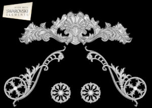 Caesar Crown-5PC Crystal