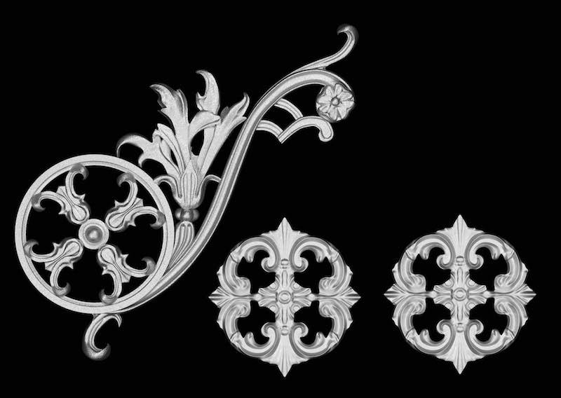 Estella scroll-3pc-classic