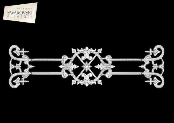 Zodiac Crown-1PC Crystal