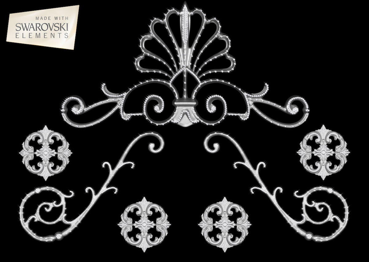 Florence Crown-7PC Crystal