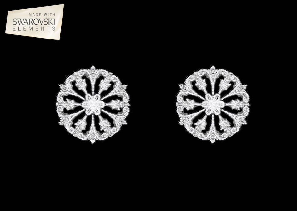 Leo HoldBack 2PC Crystal