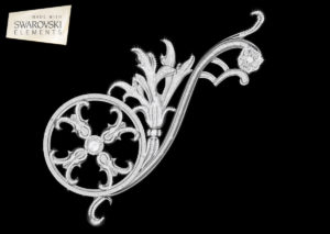 Estella Scroll-1PC Crystal