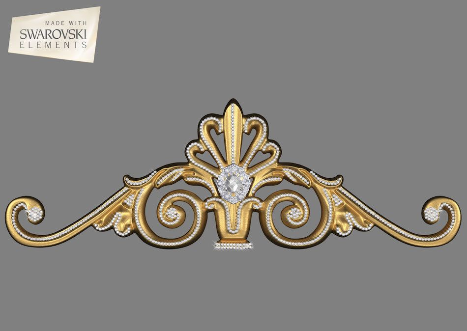 Estella Crown- 1PC Gem