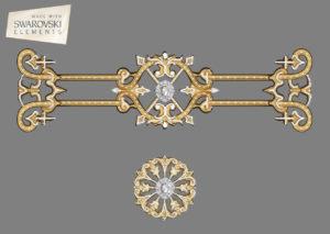 Zodiac Crown-2PC Gem