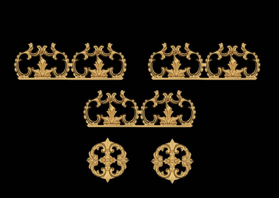 Bellagio crown-5pc-classic