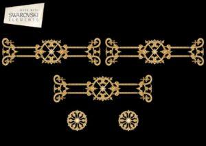Zodiac Crown- 5PC Crystal