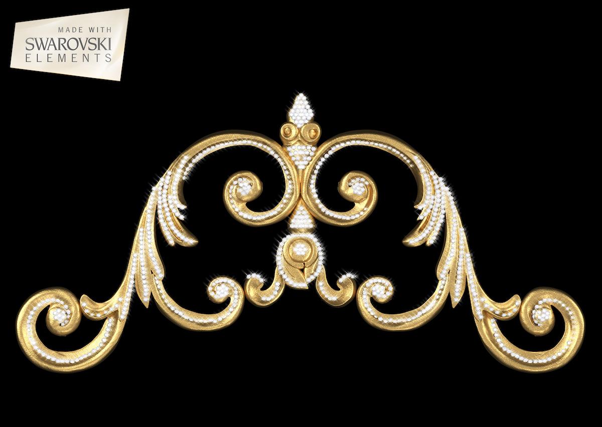 Venetian Crown-1PC Crystal
