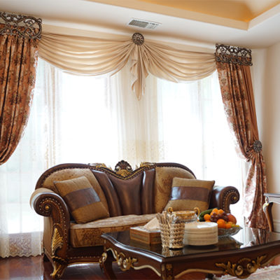 are curtains out of style
