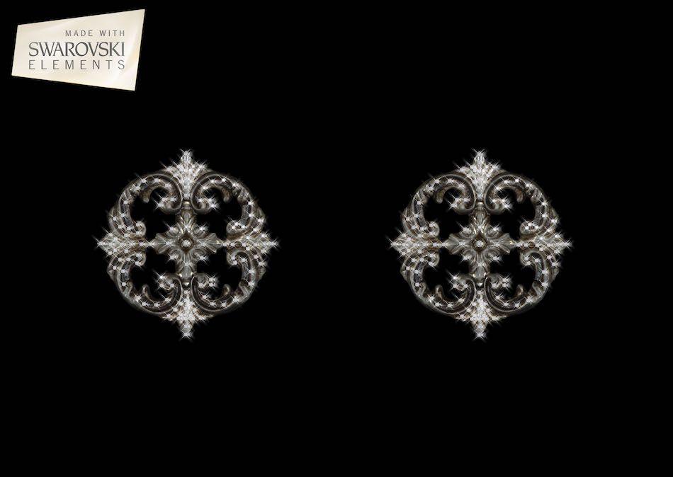 Large Medallion-2PC Crystal