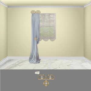 Bellagio Crown-2PC