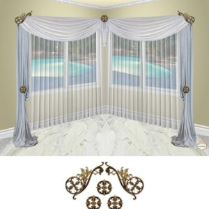 Estella scroll-5pc-classic (corner)