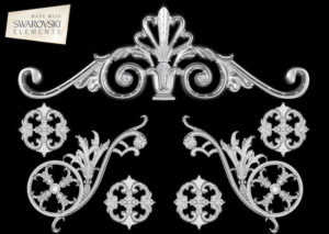 Estella Crown-7PC Crystal