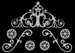 Rose Passion Crown-7PC Classic