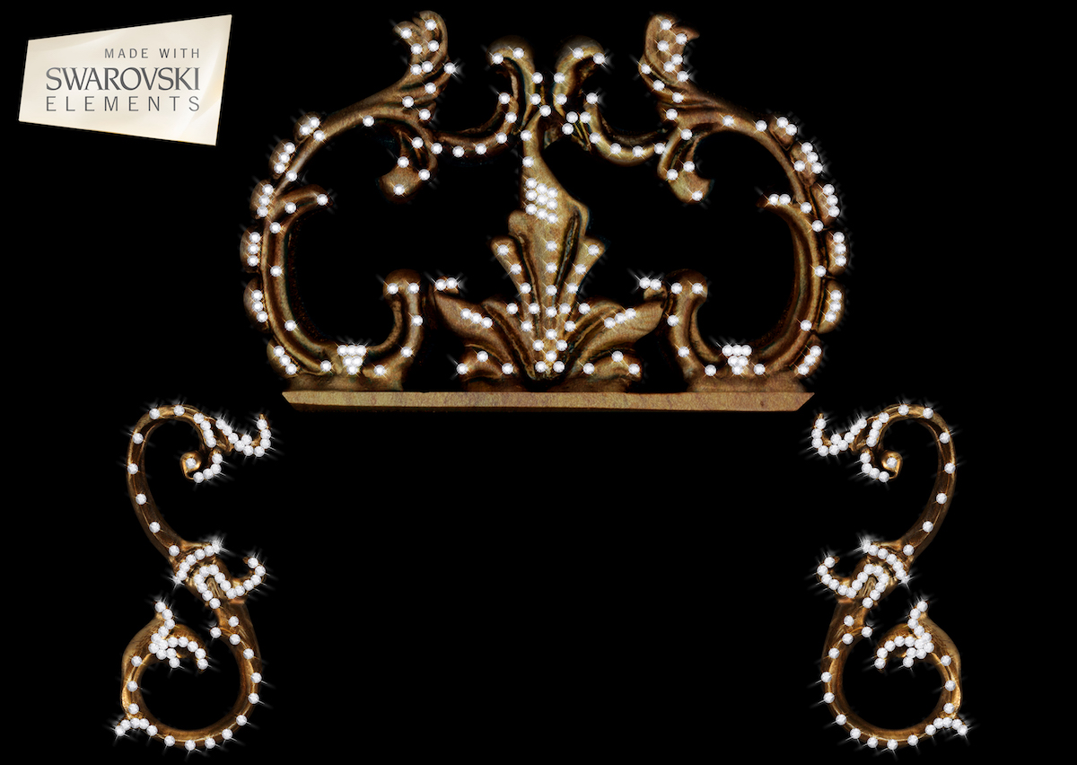 Sheraton Crown-3PC Crystal