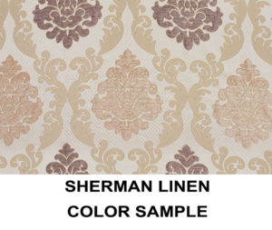 Sherman Linen Scroll Panels