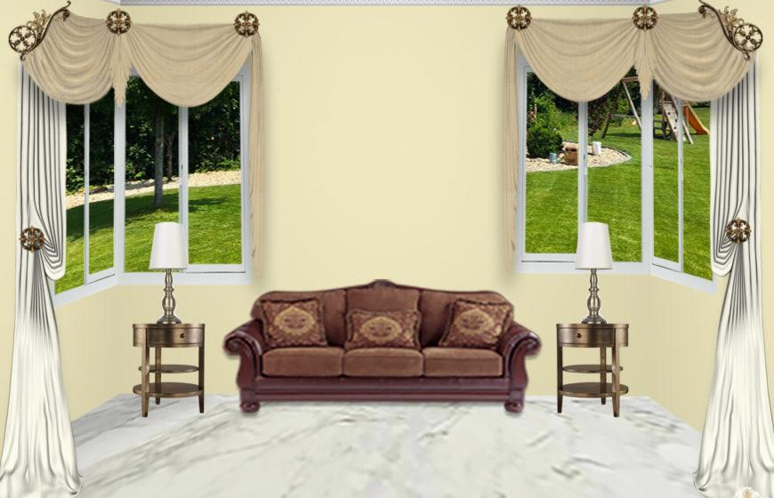 Estella scroll-2-Radiant gold- Plaza Ivory -Tara beige
