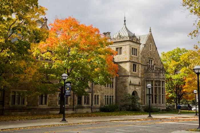 Ann Arbor fall colors