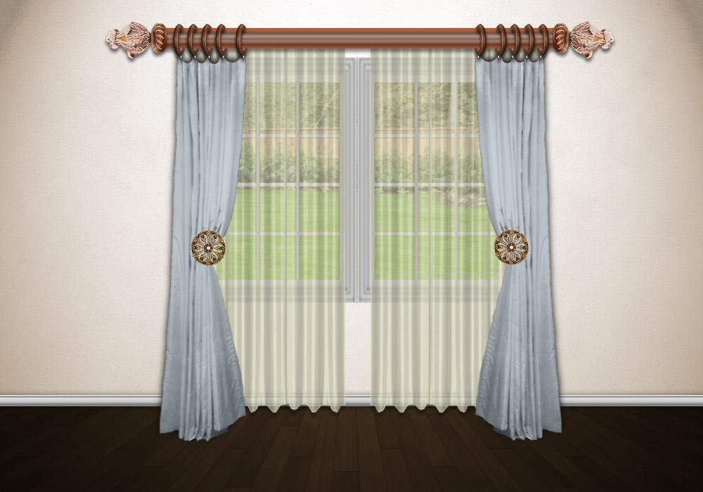 Draw drapes
