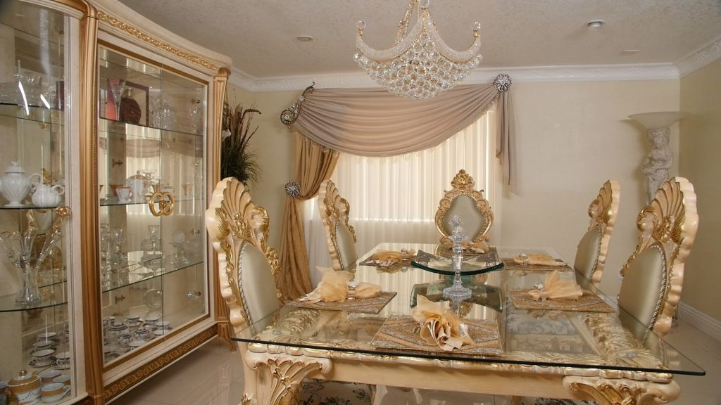 Dining room Drapes