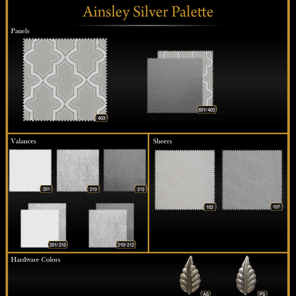 Ainsley Silver Palette