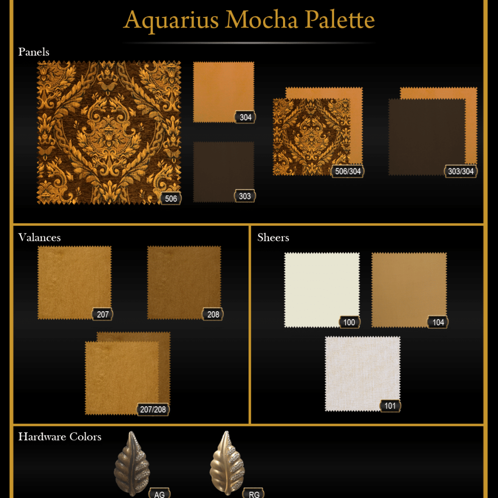 Aquarius Mocha Palette