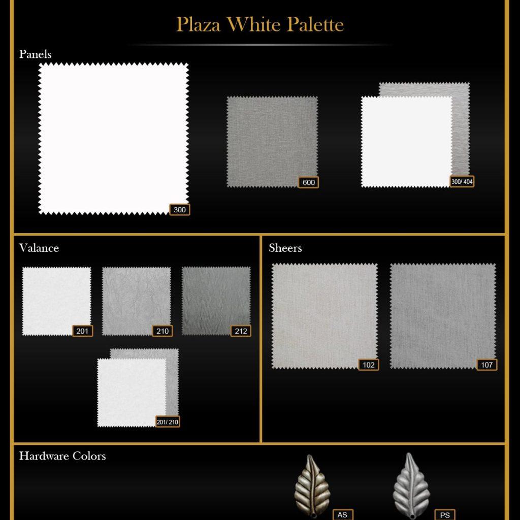 Plaza White Palette