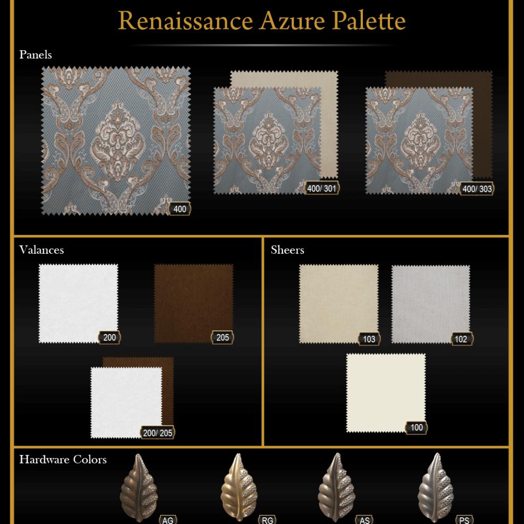 Renaissance Azure Palette