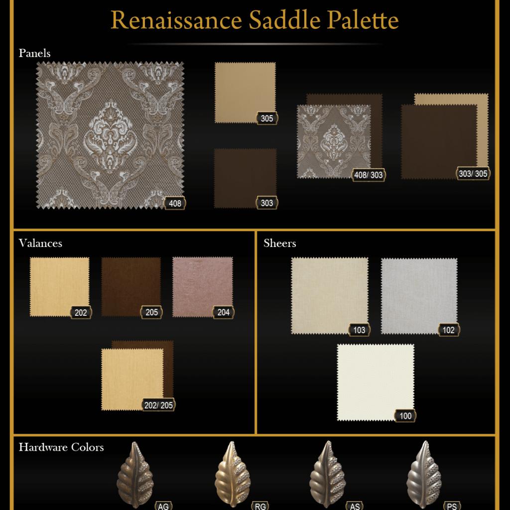 Renaissance Saddle Palette